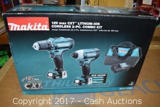 Makita 12V Max CXT Cordless 2 Piece Combo Kit