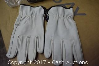 (12 Pair) XXXL Memphis Leather Gloves