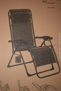Hampton Bay Zero Gravity Chair (Brown)