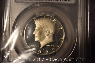 1979-S JFK Half Dollar Proof PCGS PR-69 Deep Cameo Type-1