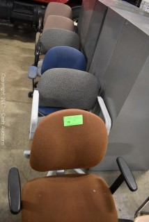 (6) Office Chairs