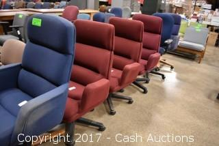 (6) High Back Chairs