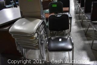 (7) Stacking Chairs