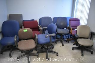 (13) Misc Office Chairs
