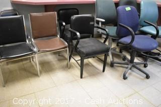 (15) Misc. Office Chairs