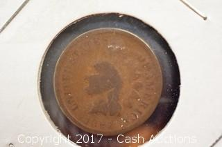 1887 Indian Head Penny