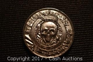 """(2) Privateer Series """"White Whale"""" 2 Troy oz .999 Silver Coins"""