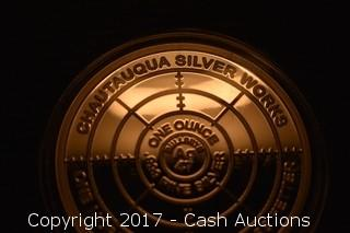 """CSW T.I.M.E. Series #3 """"Perpetual"""" 1 Troy oz .999 Silver Proof"""