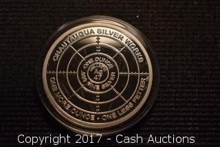 """CSW T.I.M.E. Series #4 """"Portal of Existence"""" 1 Troy oz .999 Silver Proof"""