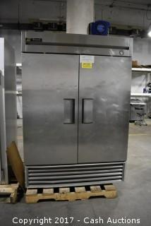 True 2 Door T-49 Refrigerator