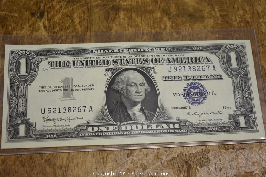 Cash Auctions - Auction: Fine Jewelry, Watches & Coins ITEM: 1957-B ...