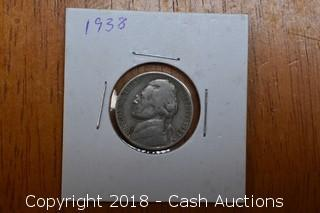 1938 Jefferson Nickel