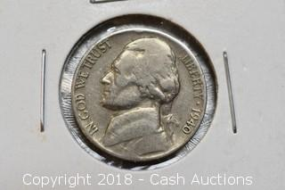 1940 Jefferson Nickel
