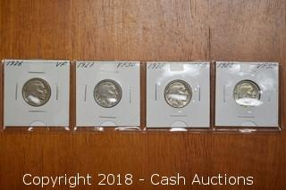1926-1929 Sequential Buffalo Nickels