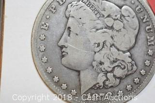 1878-CC Morgan Silver Dollar CARSON CITY MINT