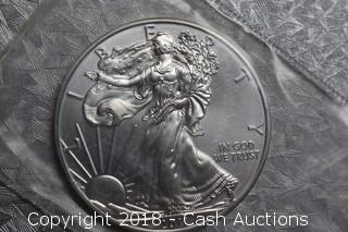 2011 Silver Eagle 1 Troy Oz .999