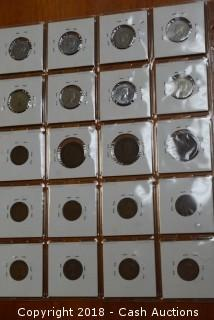 Collection of (20) Misc. Early Date Canadian Pennies and Nickels