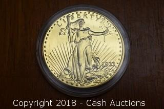 1933 Gold Double Eagle Replica