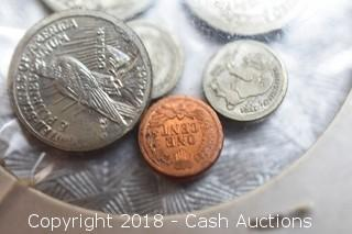 Lot of Coin Miniatures in Flip