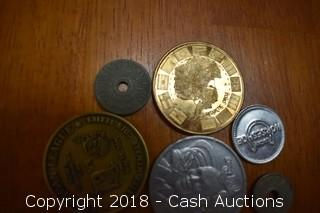 Lot of (12) Misc. Tokens and Medallions - B