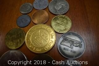 Lot of (12) Misc. Tokens and Medallions - C