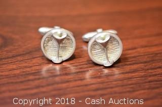 Pair of Vintage Martini Cufflinks