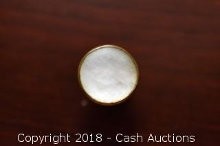 Mother of Pearl Single Button