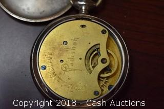 "New England Watch Co. ""Padishah"" Pocket Watch"
