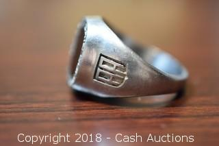 1982 Erie Community College Aluminum School Ring