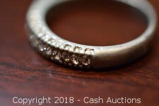 Small 16 Stone Ring