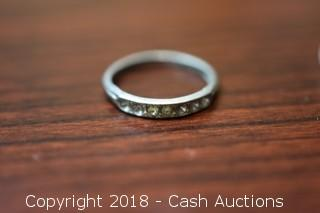 Small 7 Stone Ring
