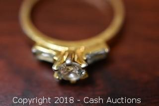 Gold Toned EDCO Ring