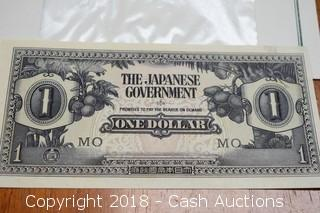 Japanese Govt. Foreign Bank Note