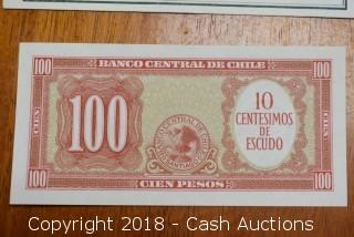 Bank of Chile Foreign Bank Note