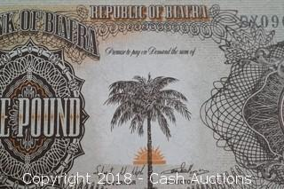 Republic of Biafra Foreign Bank Note