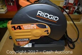 "Ridgid 14"" Abrasive Cut-Off Machine"