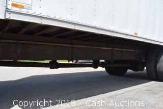 2000 International 4700 DT466E 26' Box Truck w/ Lift Gate LOW MILES!!!