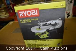 "Ryobi 16"" Variable Speed Scroll Saw"