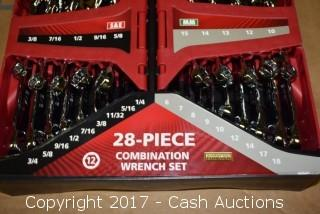 Husky 28 Piece Combination Wrench Set
