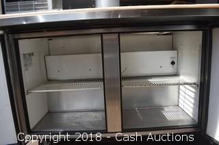 True Refrigerated Prep Unit w/ Stainless Inserts