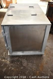 Servolift Double Wide Warming Cabinet