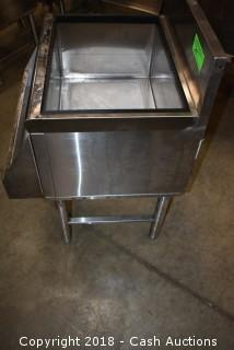 Prestige Stainless Ice Bin w/ Speed Rack