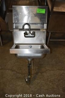 Advance Tabco Wall Mounted Stainless Hand Sink