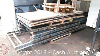 Lot of Pallet Racking