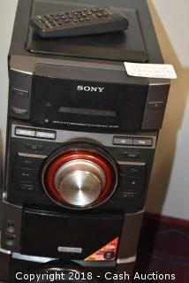 Sony 530W Mini Shelf System with Apple iPod Dock