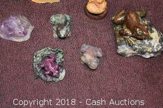 Lot of Decorative Frogs