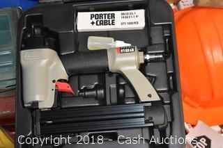 Porter Cable Brad Nailer w/ Box & Manual