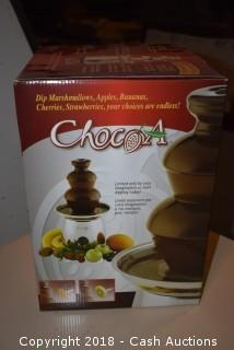 Chocoa Stainless Chocolate Fountain