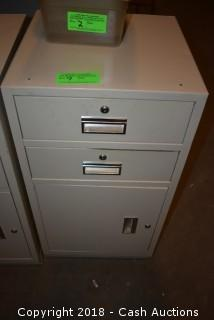 Locking Cashier Cabinet w/ No Keys