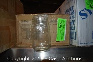 Case of (12) 16 oz Mason Jars